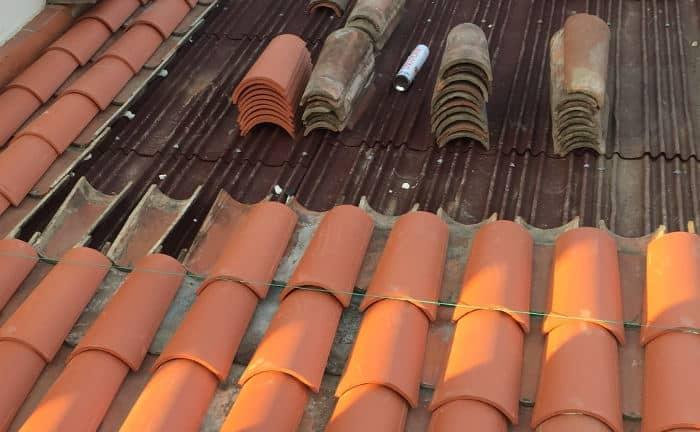 Rehabilitación de un tejado