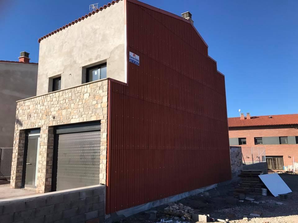 Tabique pluvial en Guissona, Lleida.